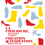 Affiche expo chaussures