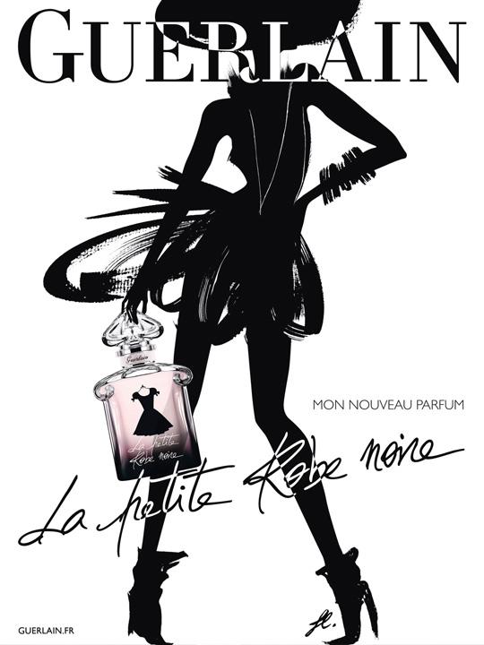 Pub guerlain la petite robe noire 2013